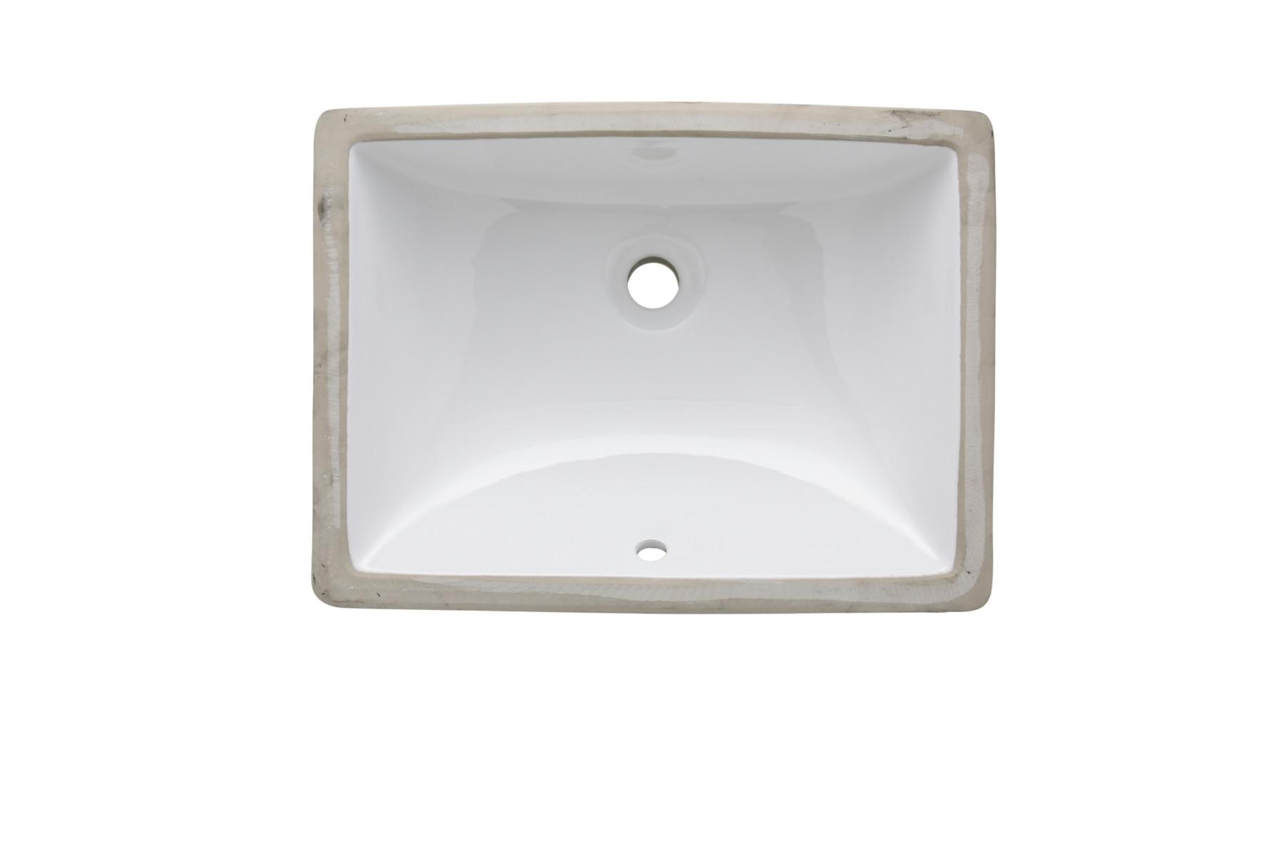AS225 20 X 15 75 Undermount Lavatory Porcelain Sink