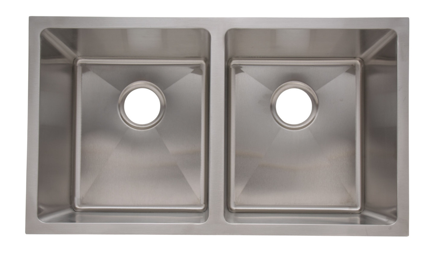 as341 33   x 20   x 10   10   18g double bowl undermount legend stainless steel kitchen sink   amerisink as341 33   x 20   x 10   10   18g double bowl undermount legend      rh   amerisink com