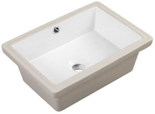 As233 X X 6 Undermount Lavatory Porcelain Sink Amerisink