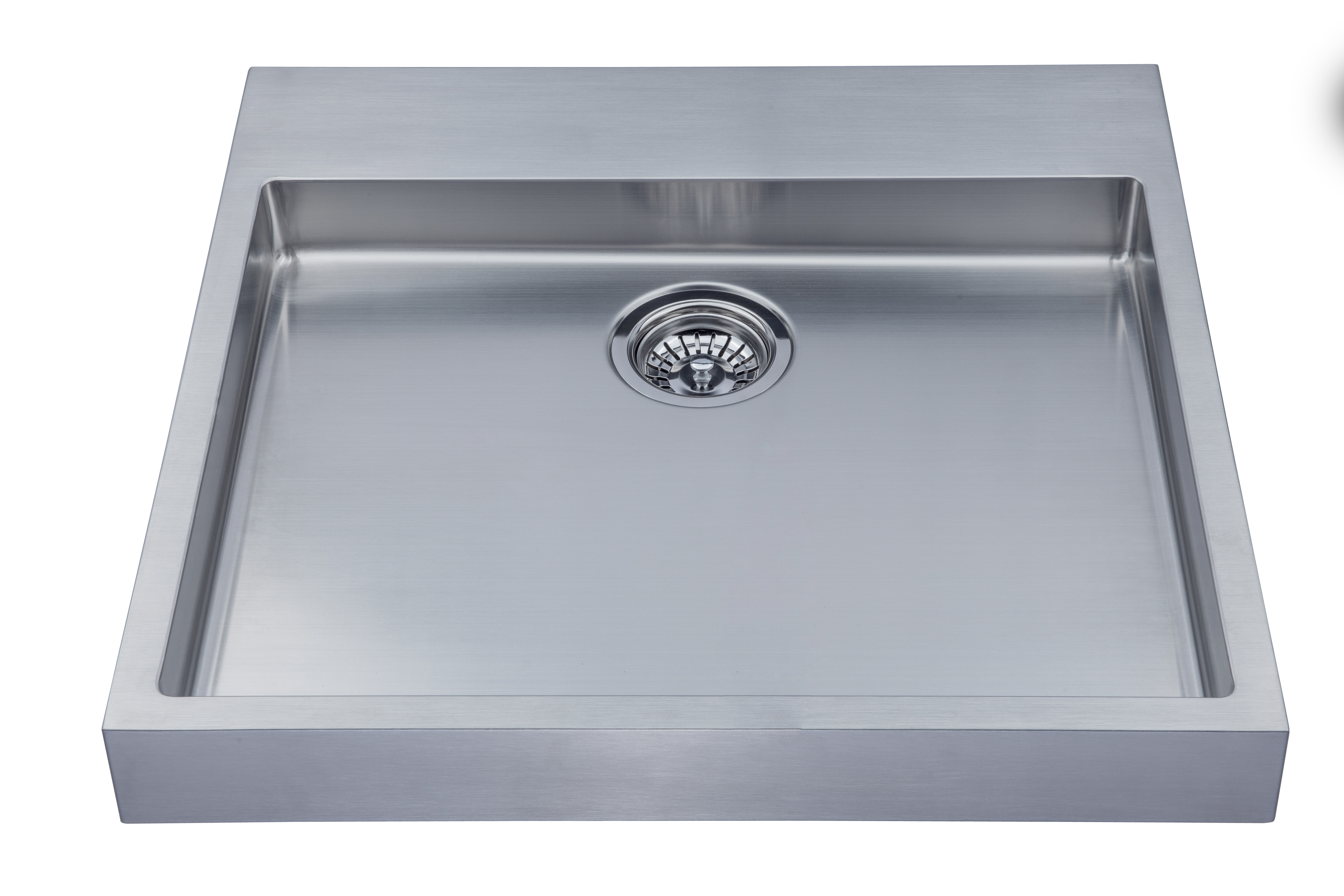 As358 24 x 23 5 x 3 18g single bowl vessel legend for Colored stainless steel sinks