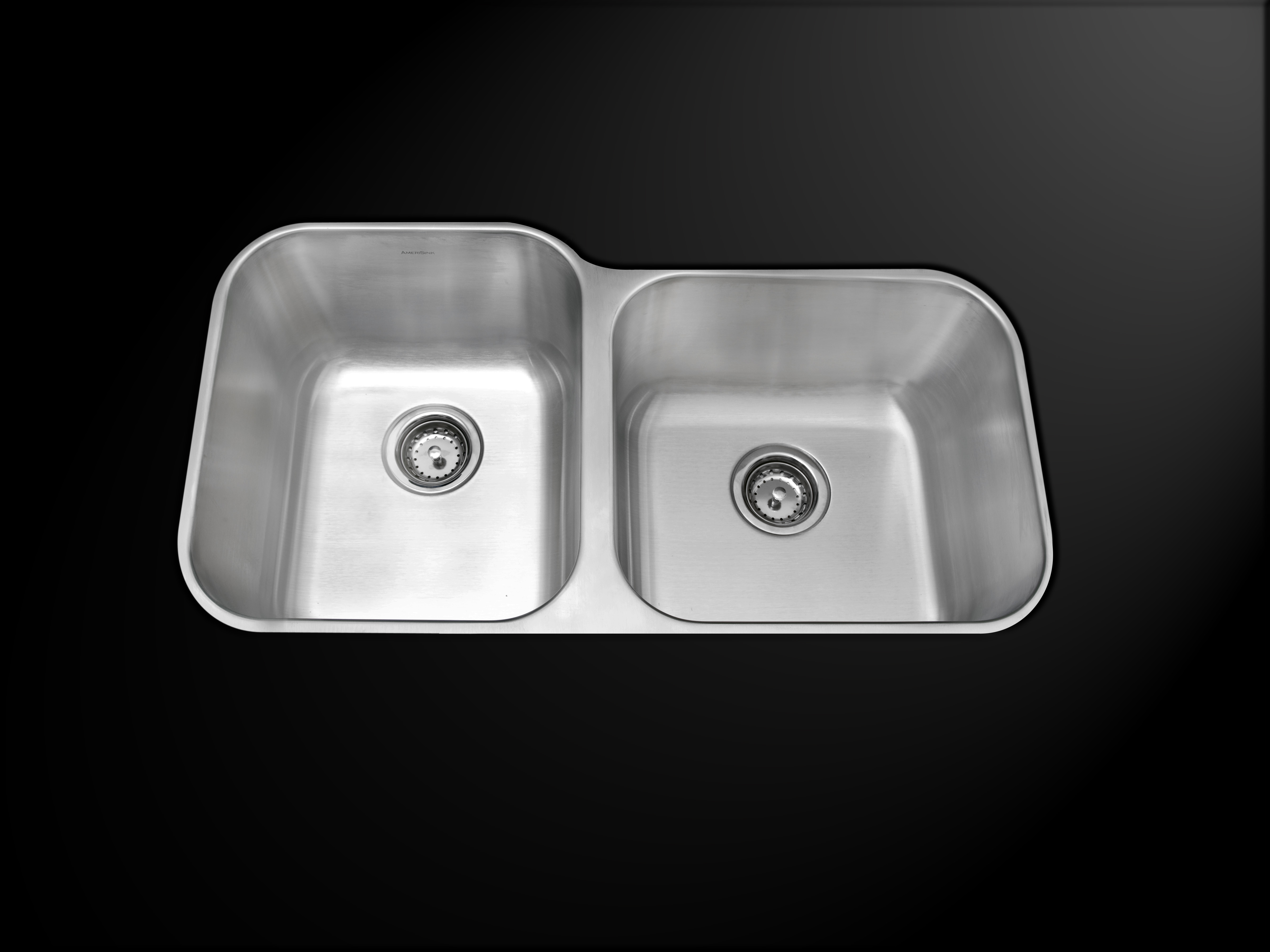Granite composite kitchen sinks reviews - As102 33 X 17 72 X 10 10 18g Double Bowl Undermount Deluxe Stainless Steel Kitchen Sink