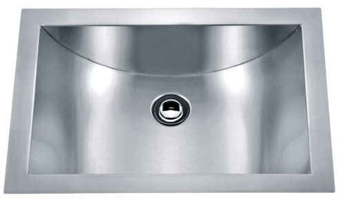 As329 21 X 15 X 6 15g Single Bowl Undermount Legend Stainless Steel Bathroom Sink
