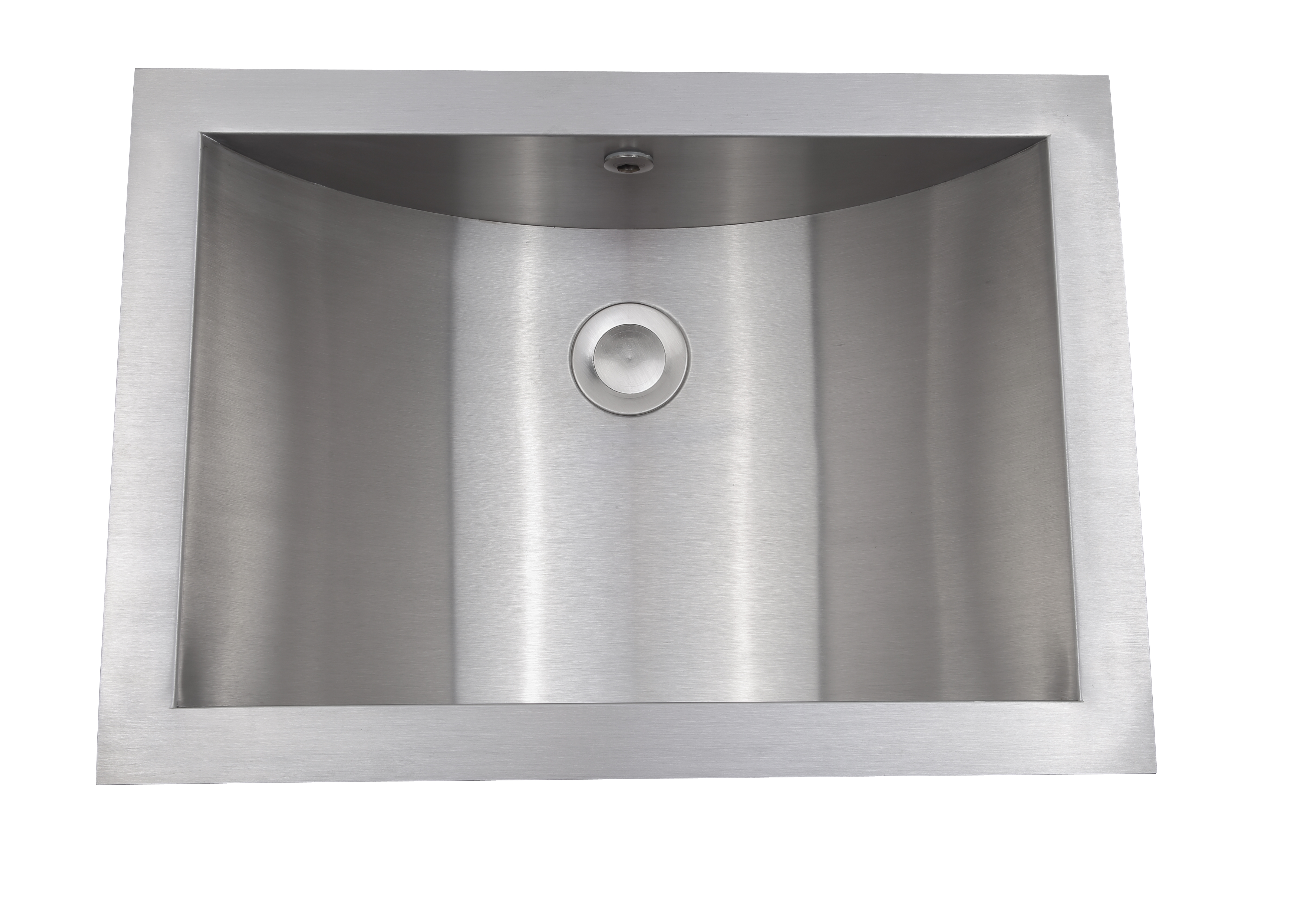 As344 21 X 15 X 6 18g Single Bowl Undermount Legend Stainless Steel Bathroom Sink Amerisink