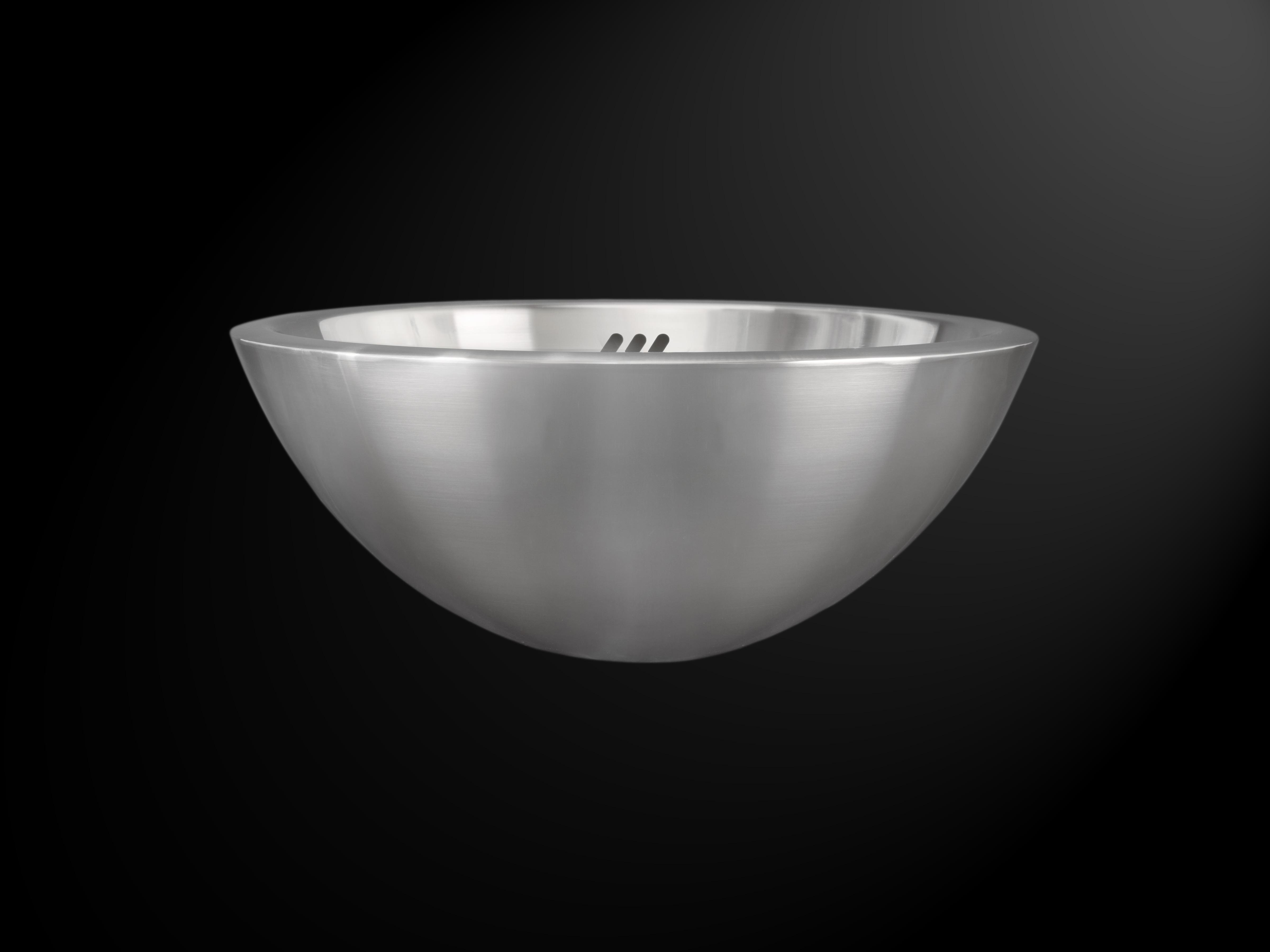 Stainless Vessel Sink : ... Single Bowl Vessel Deluxe Stainless Steel Bathroom Sink - AmeriSink