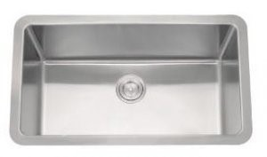 AS140 23u2033 X 18u2033 X 9u2033 18G Single Bowl Undermount Trend Stainless Steel  Kitchen Sink