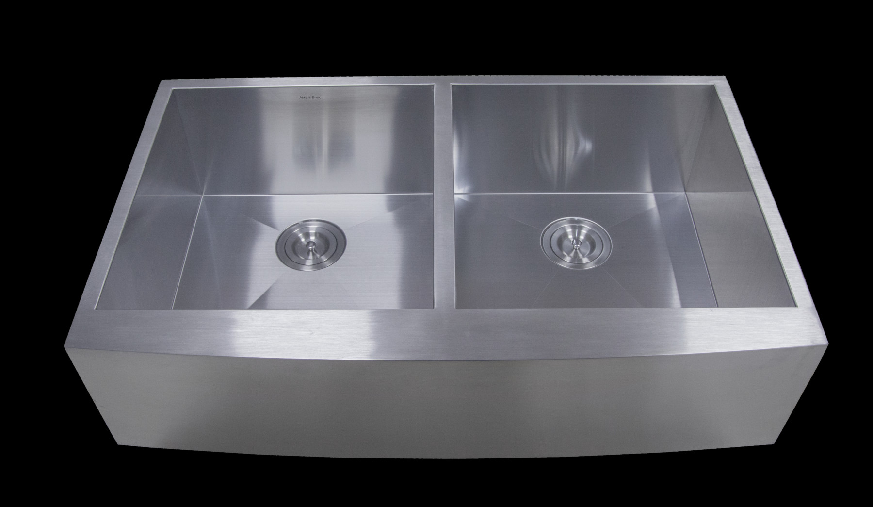 ... Double Bowl Apron Legend Stainless Steel Kitchen Sink. ; 