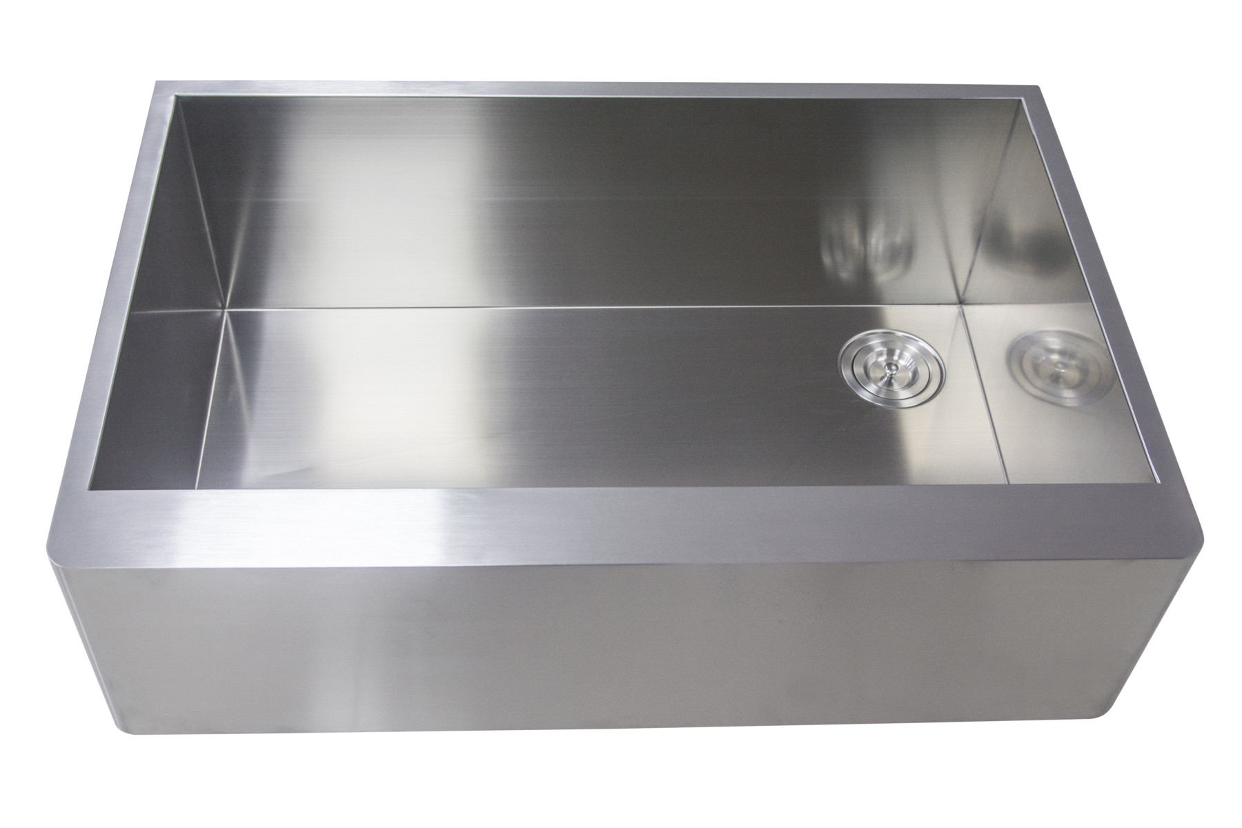 Bathroom sink cabinet dimensions - As389 36 Quot X 24 Quot X 14 Quot 16g Handcrafted Stainless Steel Dog