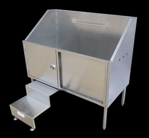 ... Handcrafted Stand-Alone Stainless Steel Dog Bath Stations - AmeriSink