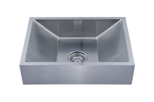 As356 23 75 X 17 25 6 18g Single Bowl Vessel Legend Stainless Steel Bathroom Sink