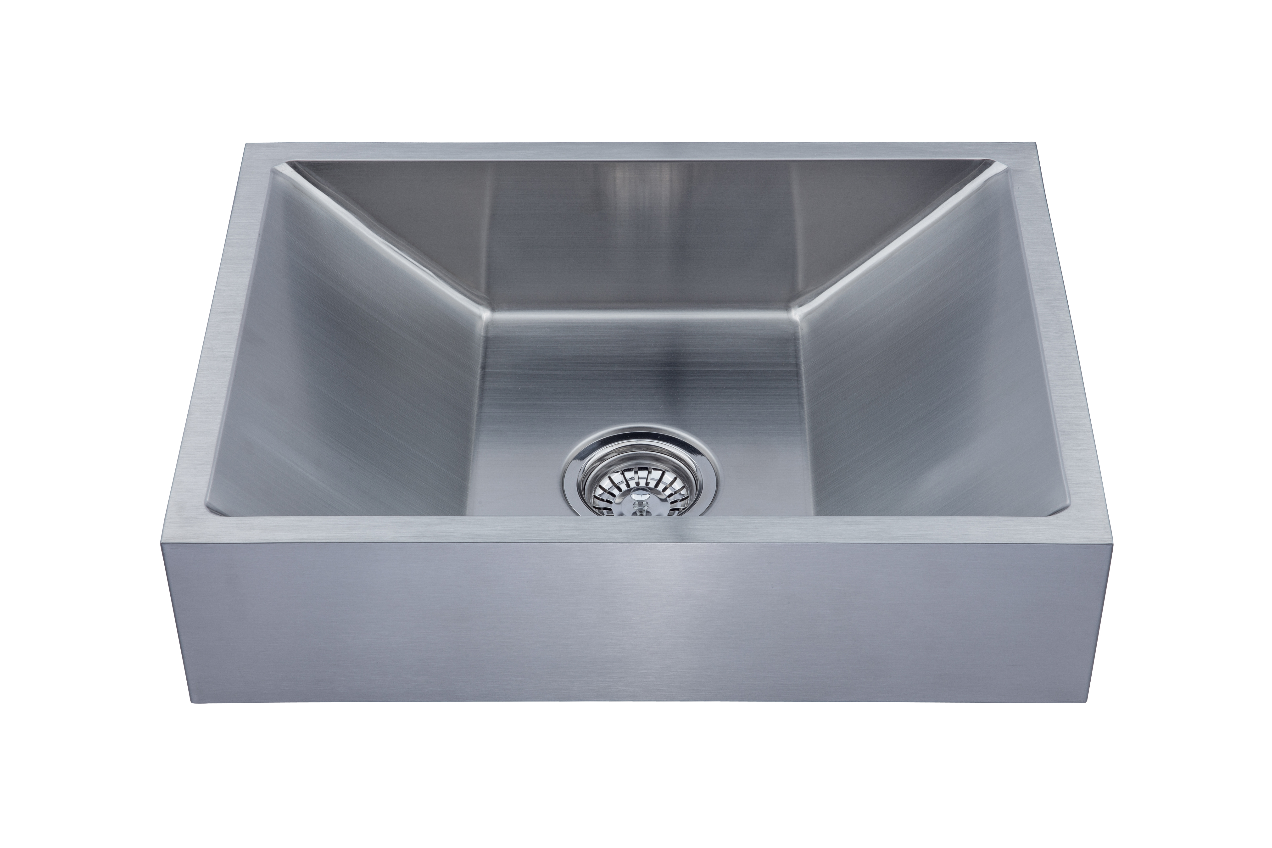 As356 23 75 X 17 25 6 18g Single Bowl Vessel Legend Stainless Steel Bathroom Sink