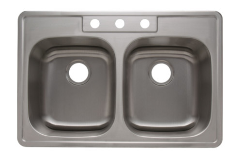 As1103 25 x 22 x 8 20g single bowl topmount builder stainless as1273 33 x 22 x 88 18g double bowl topmount economy stainless steel kitchen sink need new pictures workwithnaturefo