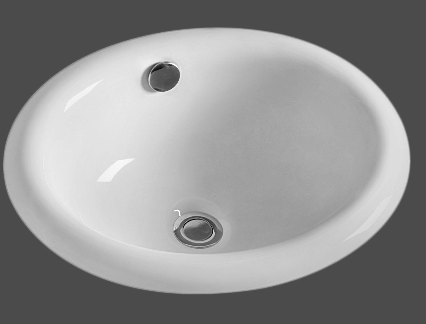 as230 18 3 x 15 x 7 3 topmount lavatory porcelain sink amerisink. Black Bedroom Furniture Sets. Home Design Ideas