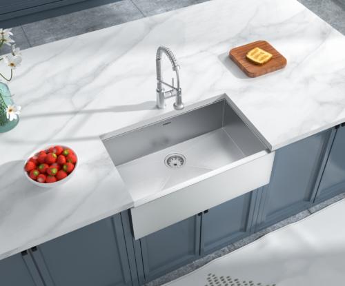 As242 30 15 X 20 X 10 Single Bowl Apron Porcelain Kitchen Sink Amerisink