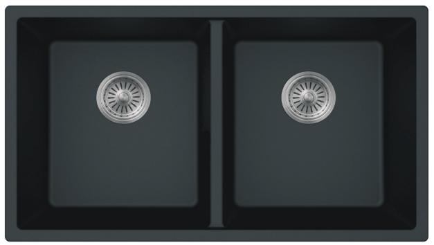 As615 32 x 185 x 99 double bowl undermount granite composite composite kitchen sink workwithnaturefo